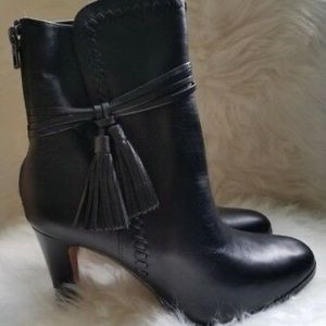 Worn Once Coach Leather Jessie Ankle Bootie